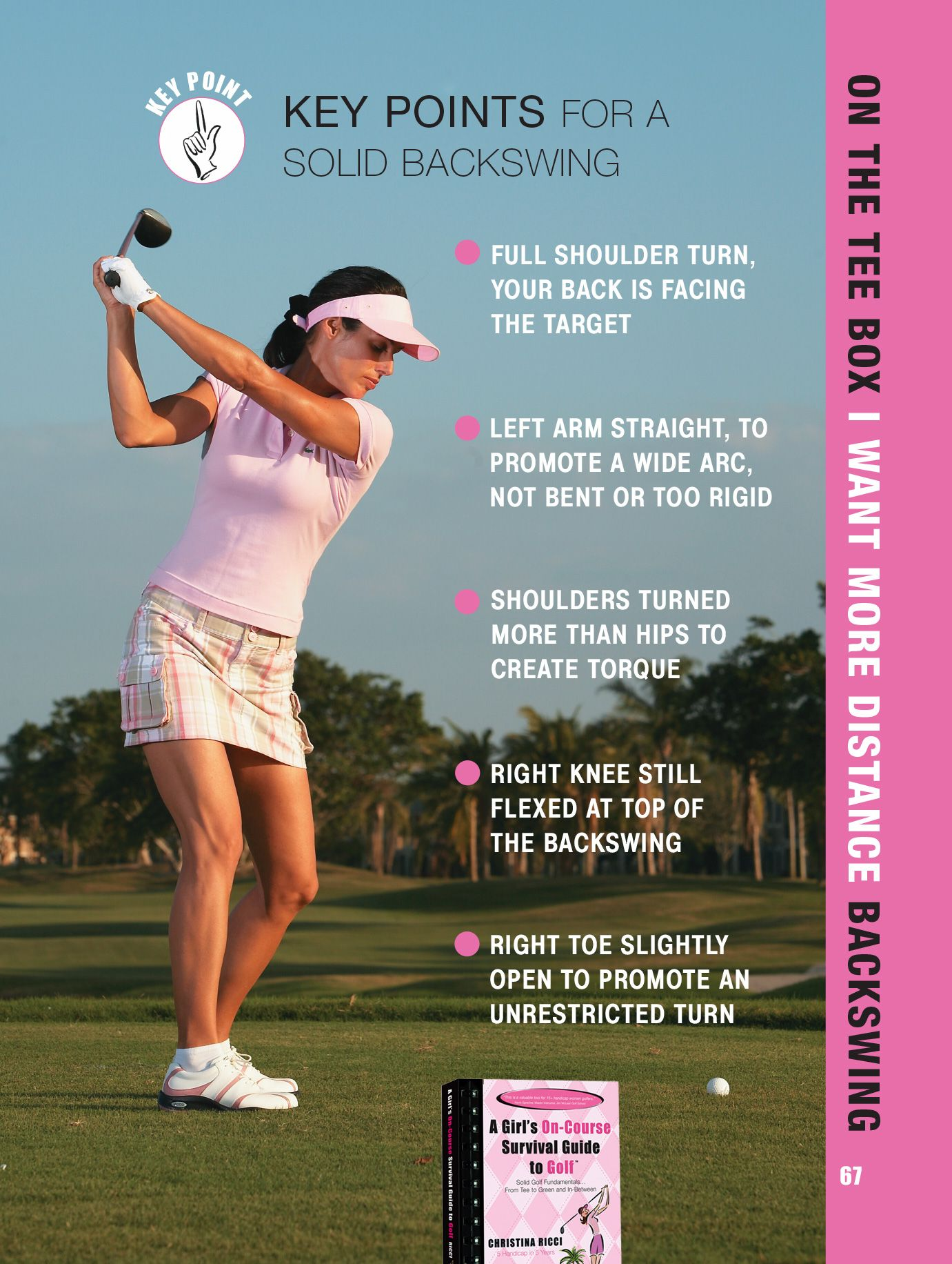 Cheat sheet to a better backswing. Golf Channel, Girls Golf, Ladies Golf,.  Read it