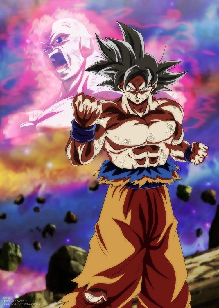 Goku Ultra Instinct Poster V1 By Hiroshiianabamodder Dragon Ball Super Art Dragon Ball Artwork Dragon Ball Super Manga