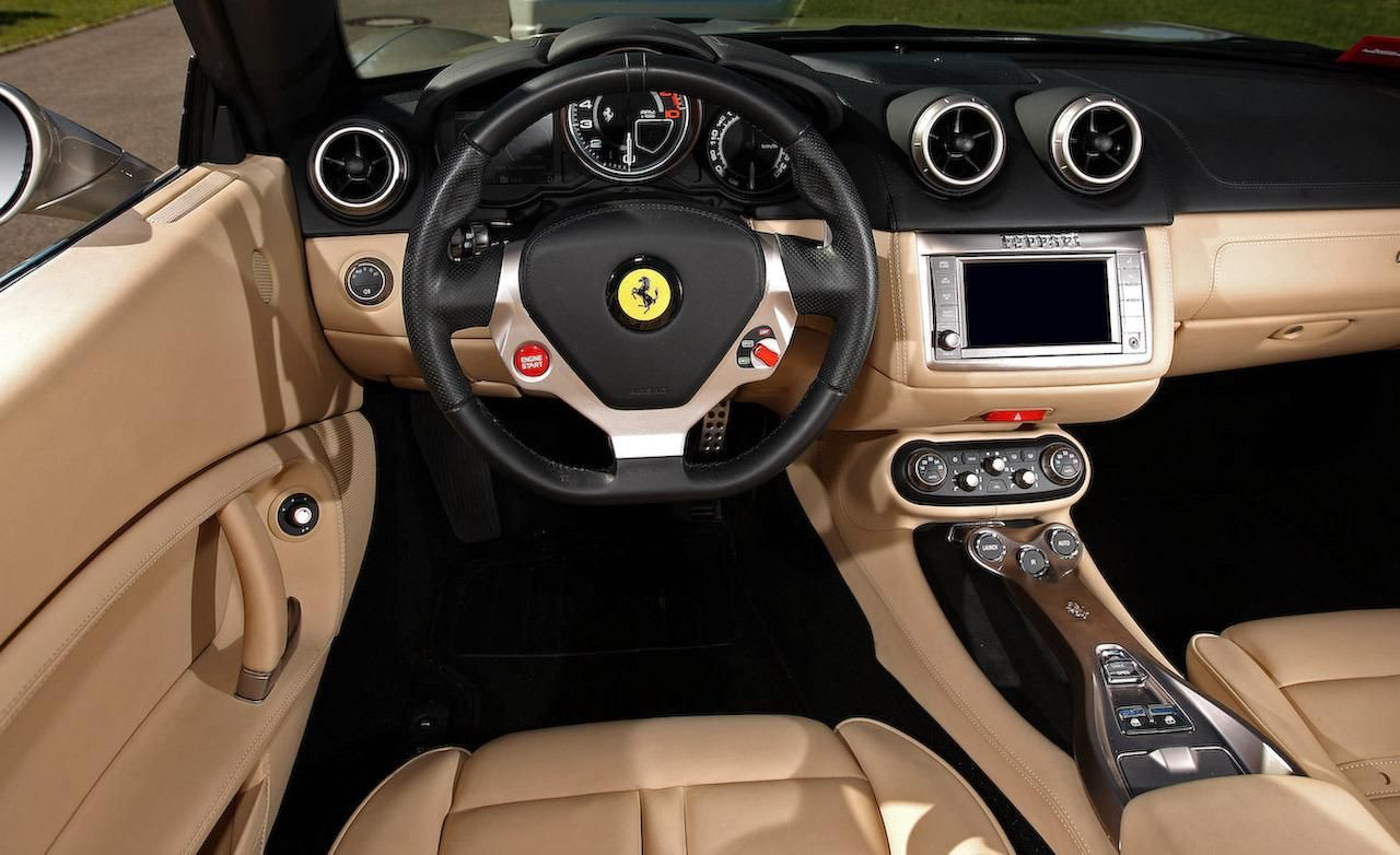 Ferrari California interior #14 | Ferrari California | Pinterest ...