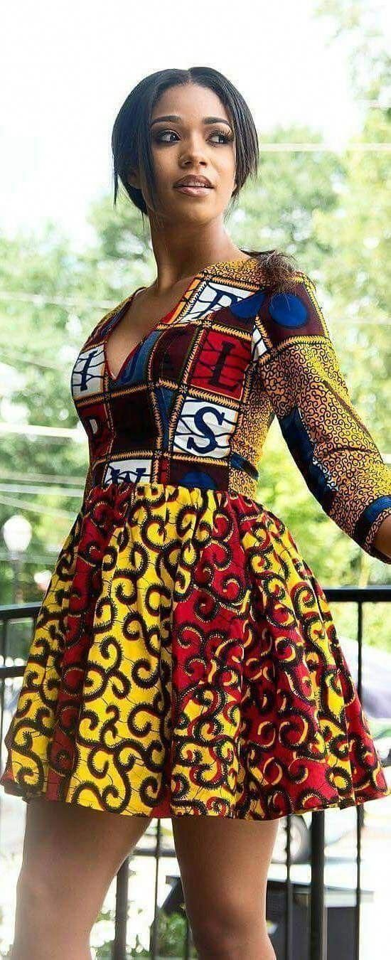 Ankara Xclusive: MOST POPULAR AFRICAN CLOTHING STYLES FOR WOMEN IN 2018 #africanclothing #ankarastil