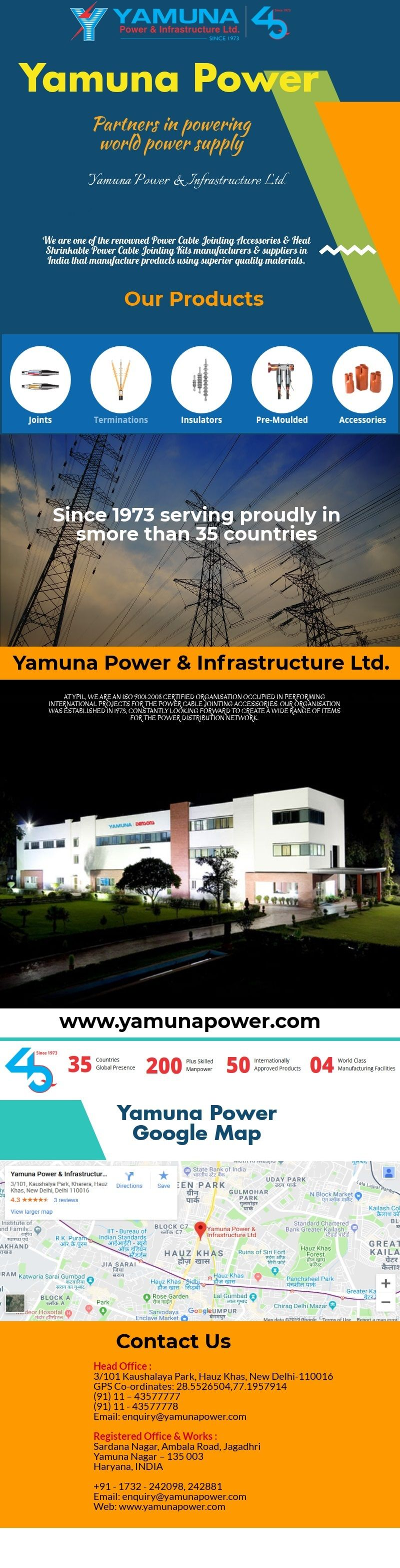 Yamuna Power is one of the leading power cable jointing
