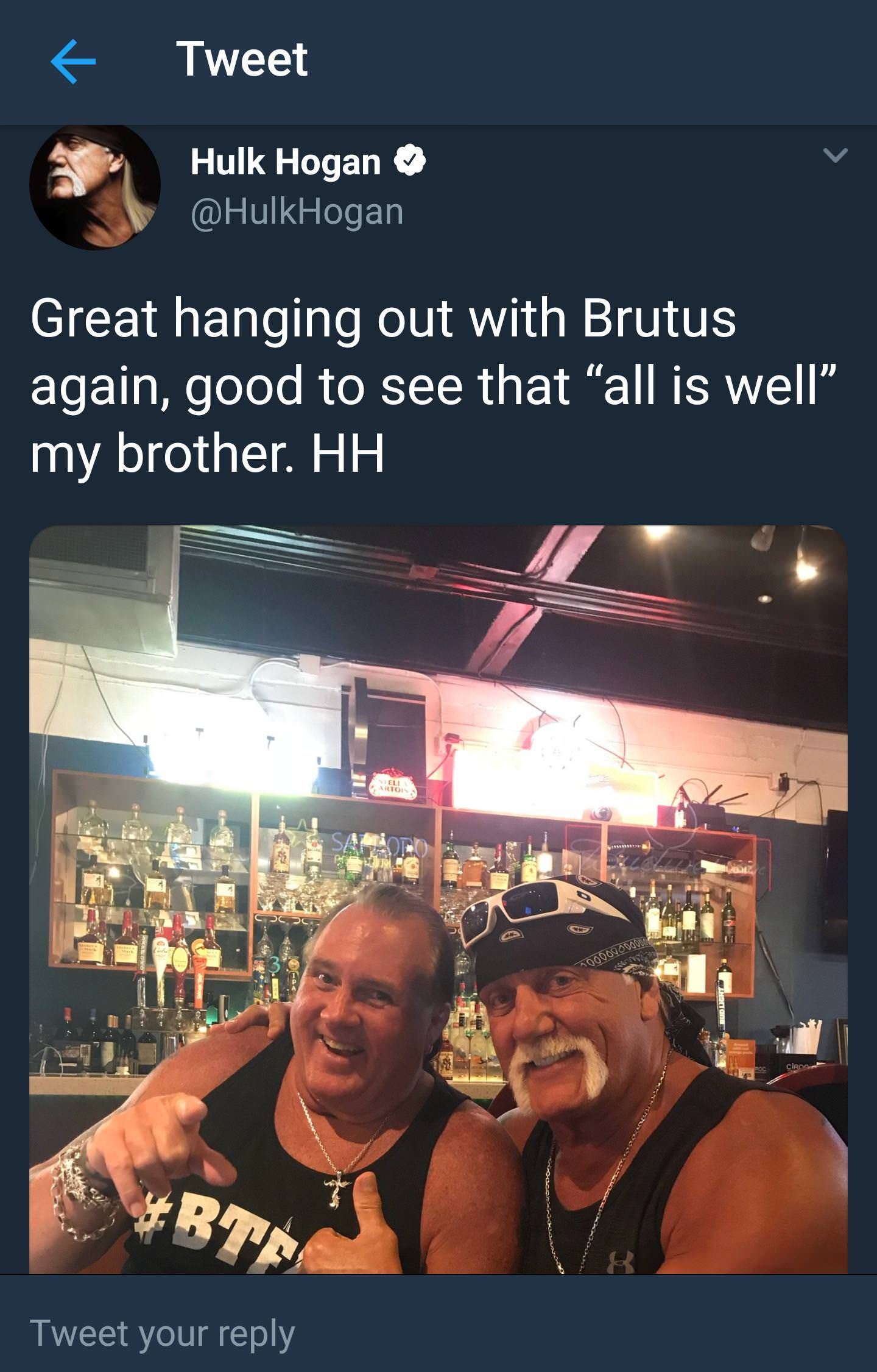 Hulk Hogan Has Totally Confused Me About How Brutus The Barber