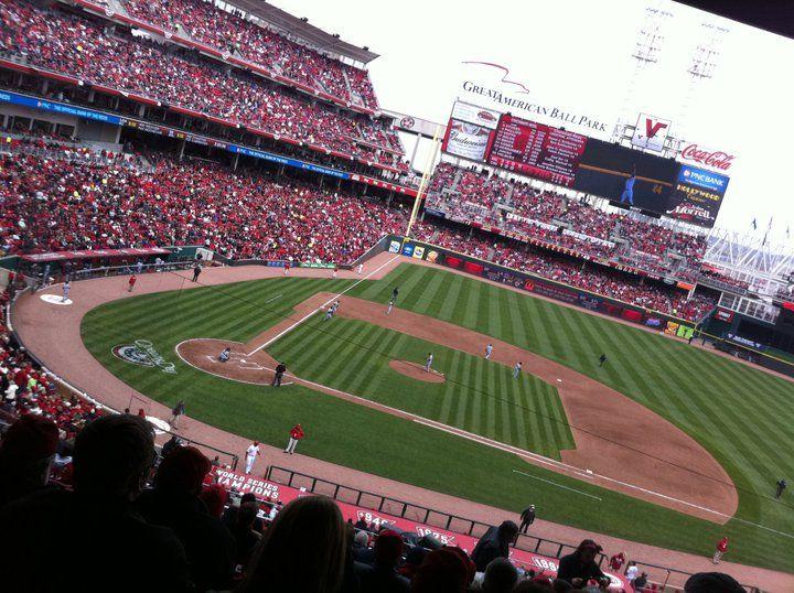Great American Ballpark Cincinnati Oh Mlb Stadiums Major League Baseball Stadiums Sports Stadium