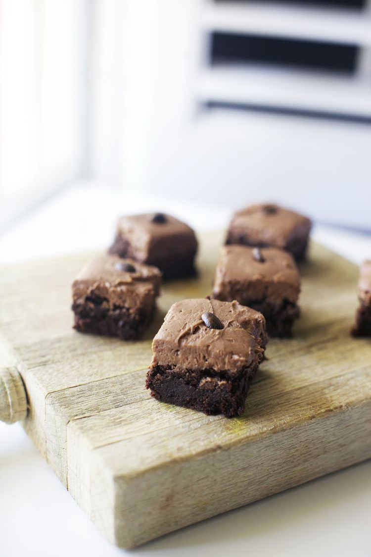 browned butter mocha brownies