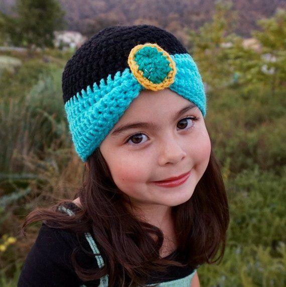 904016bdd49 Princess Jasmine beanie - Aladdin Disney character hat