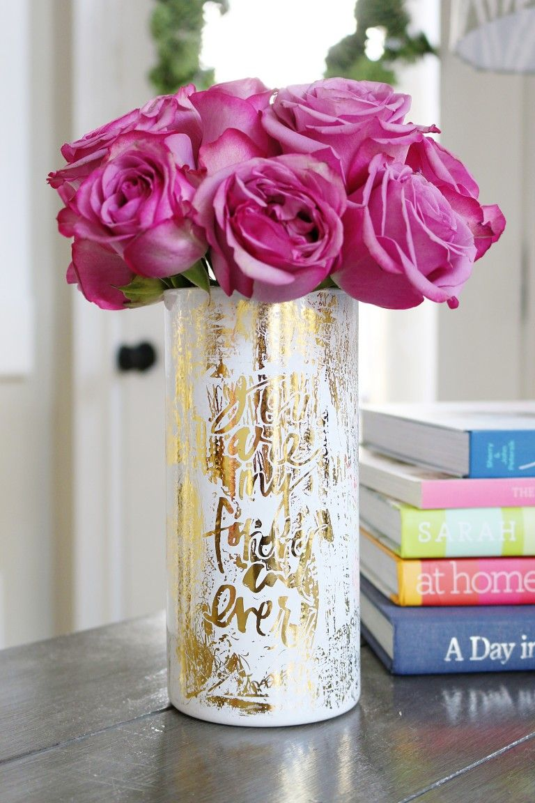 Six Valentines Vase Ideas Bower Power Wedding Vases Vases Decor Diy Valentine S Vase