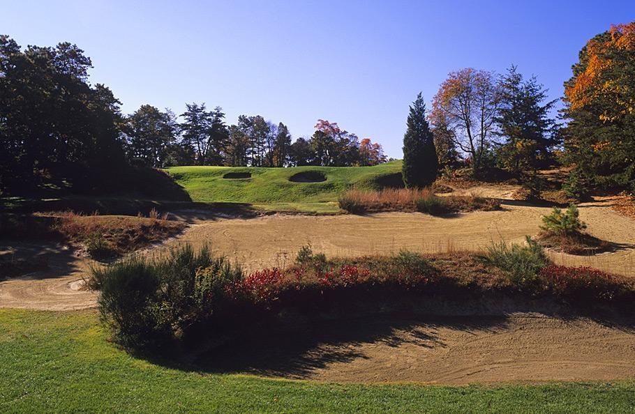 Pine Valley Golf Club -- Pine Valley, N.J. -- No. 2: Par 4 ...