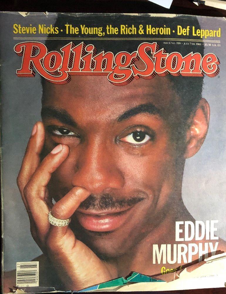 Rolling Stone 399 July 7 1983 Eddie Murphy Stevie Nicks
