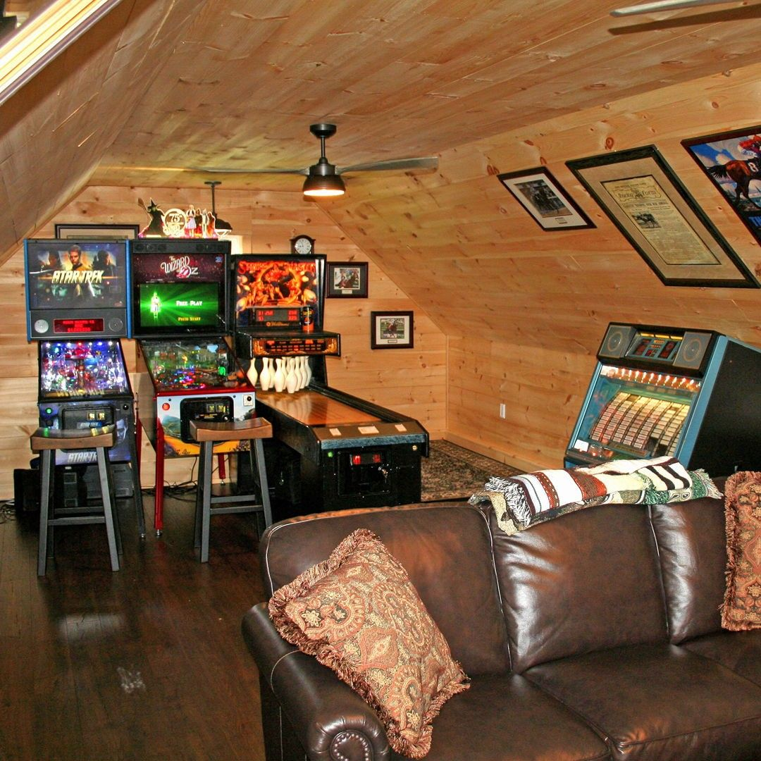Become A Pinball Wizard In Your Own Gaming Den Man Cave
