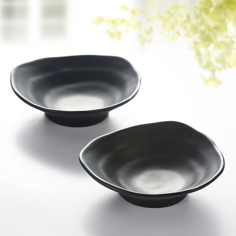 Cheap dish dishes Buy Quality dish black directly from China dish plate Suppliers Spot wholesale melamine imitation porcelain plate black frosted MELAMINE ... & Spot wholesale melamine imitation porcelain plate black frosted hot ...