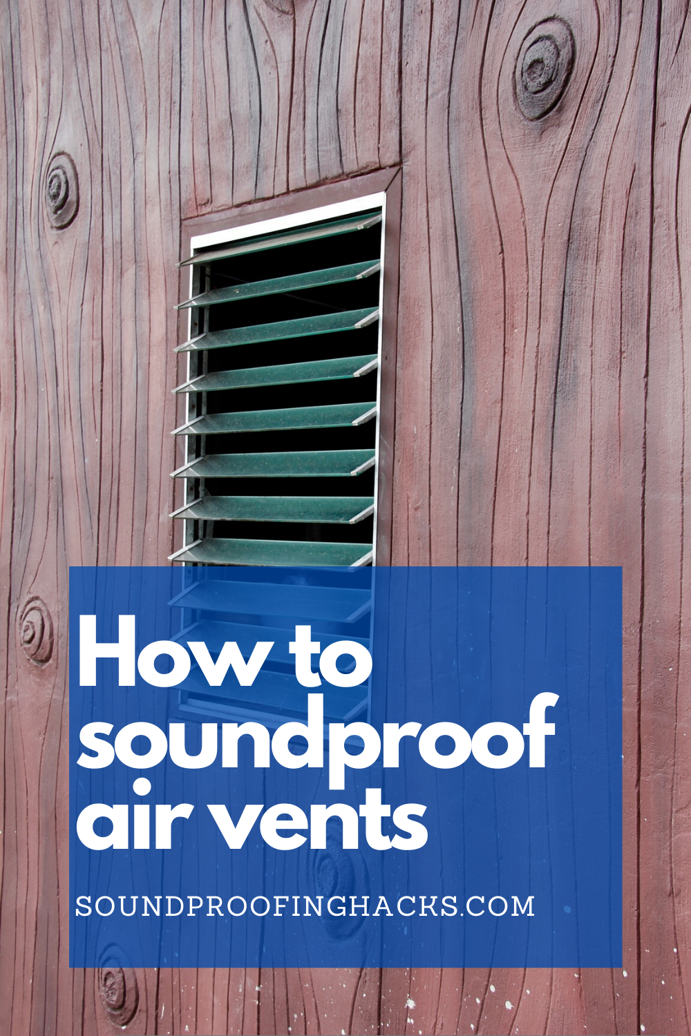 How to soundproof air vents? in 2020 | Sound proofing ...