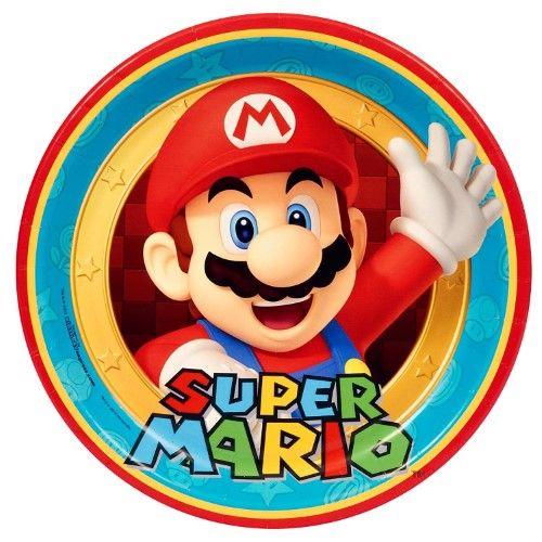 Birthday Express Mario Kart Wii Dinner Plates Plates Toys & Games ...