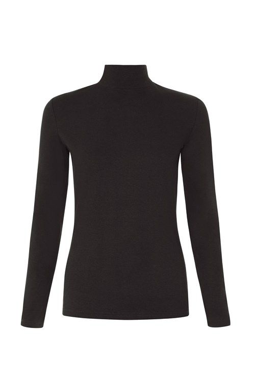 Long-sleeved turtleneck top with stretch. Our best-selling May turtleneck is an essential part of your capsule wardrobe.