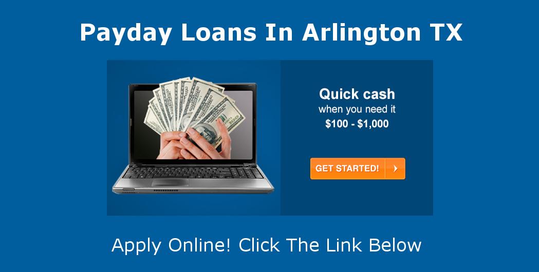 Payday Loans Arlington, TX