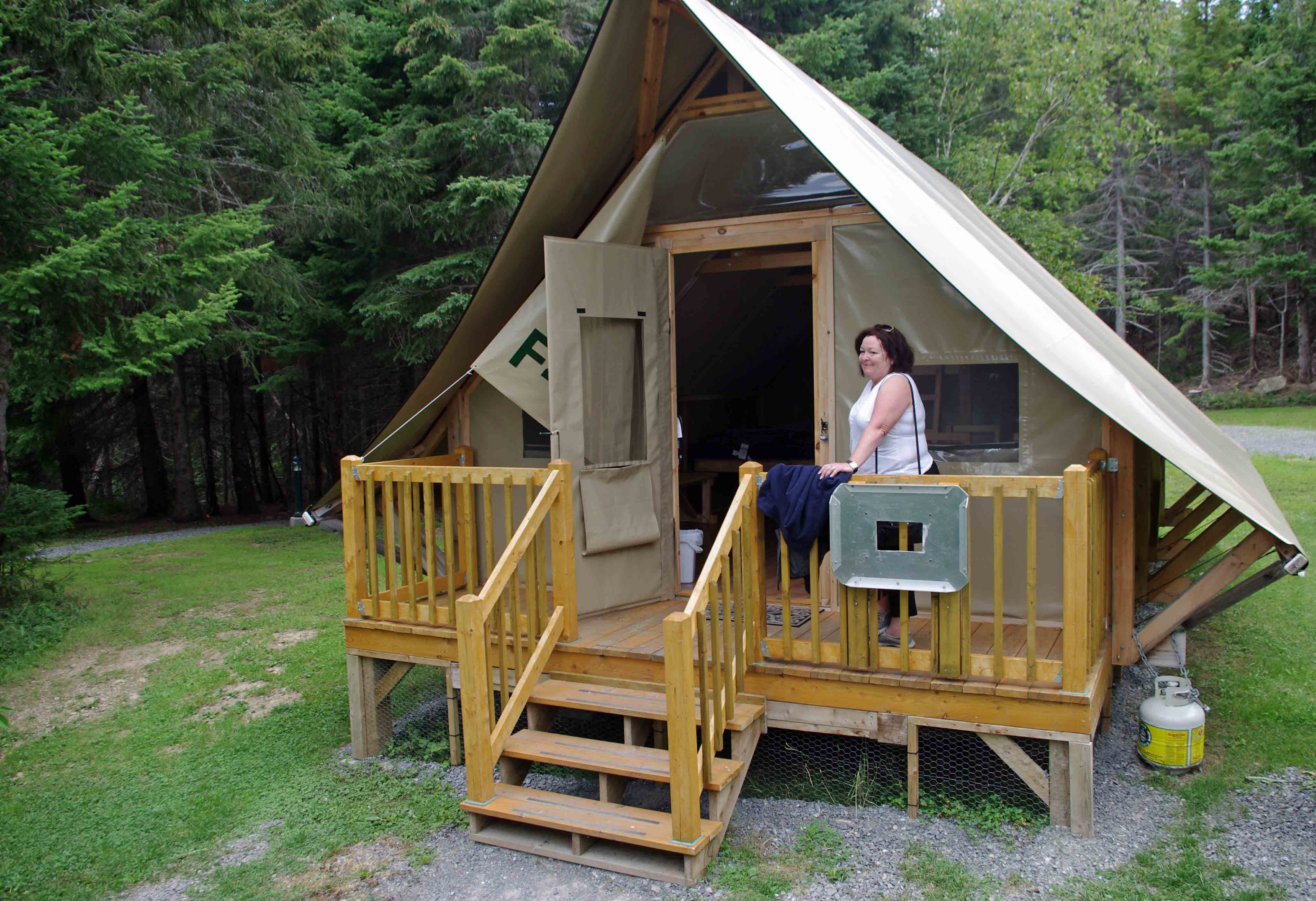 otentik camping in forillon national park gaspe on walls insulated coveralls on sale id=33475