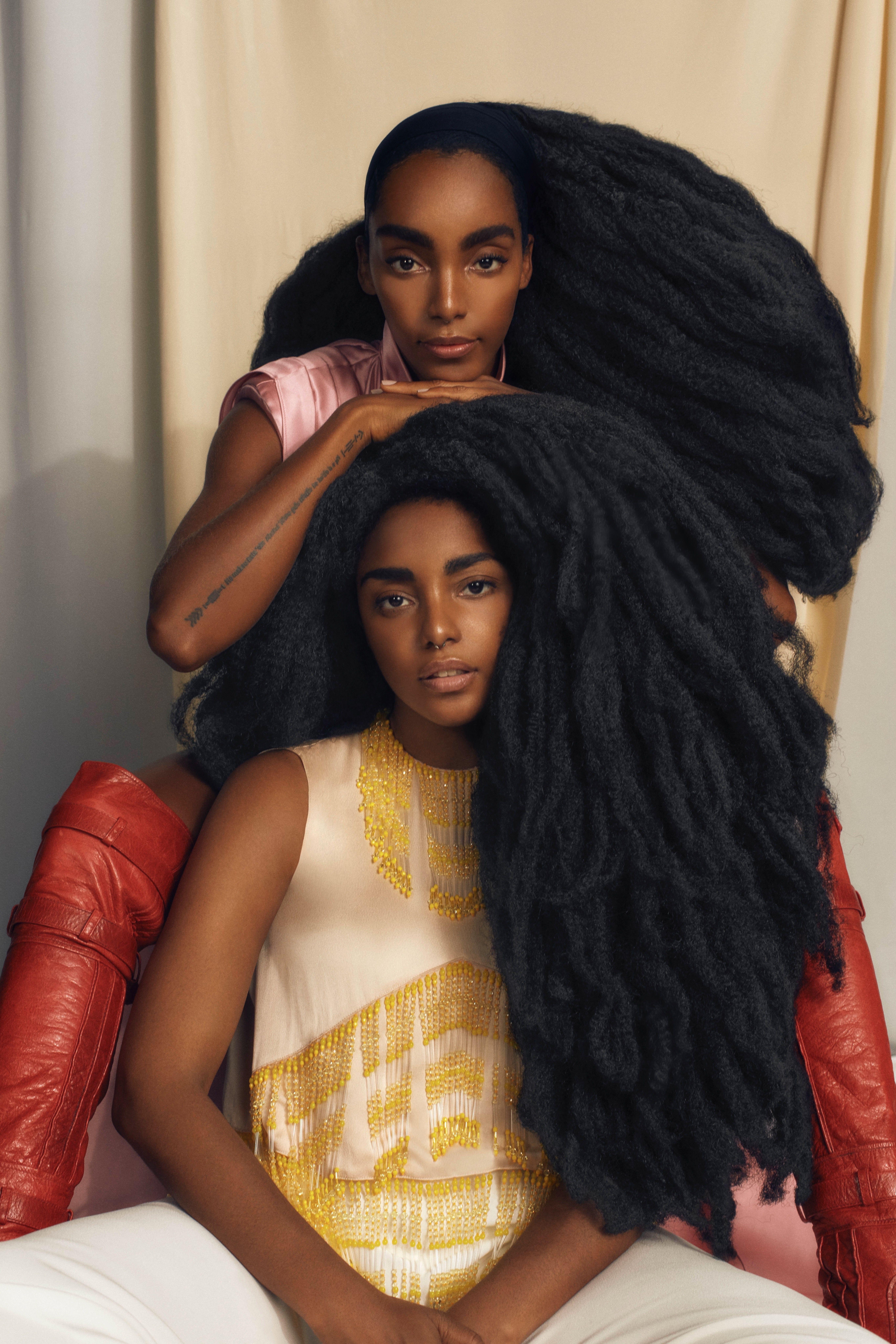 Elle Brasil September Issue: The Quann Sisters | Img