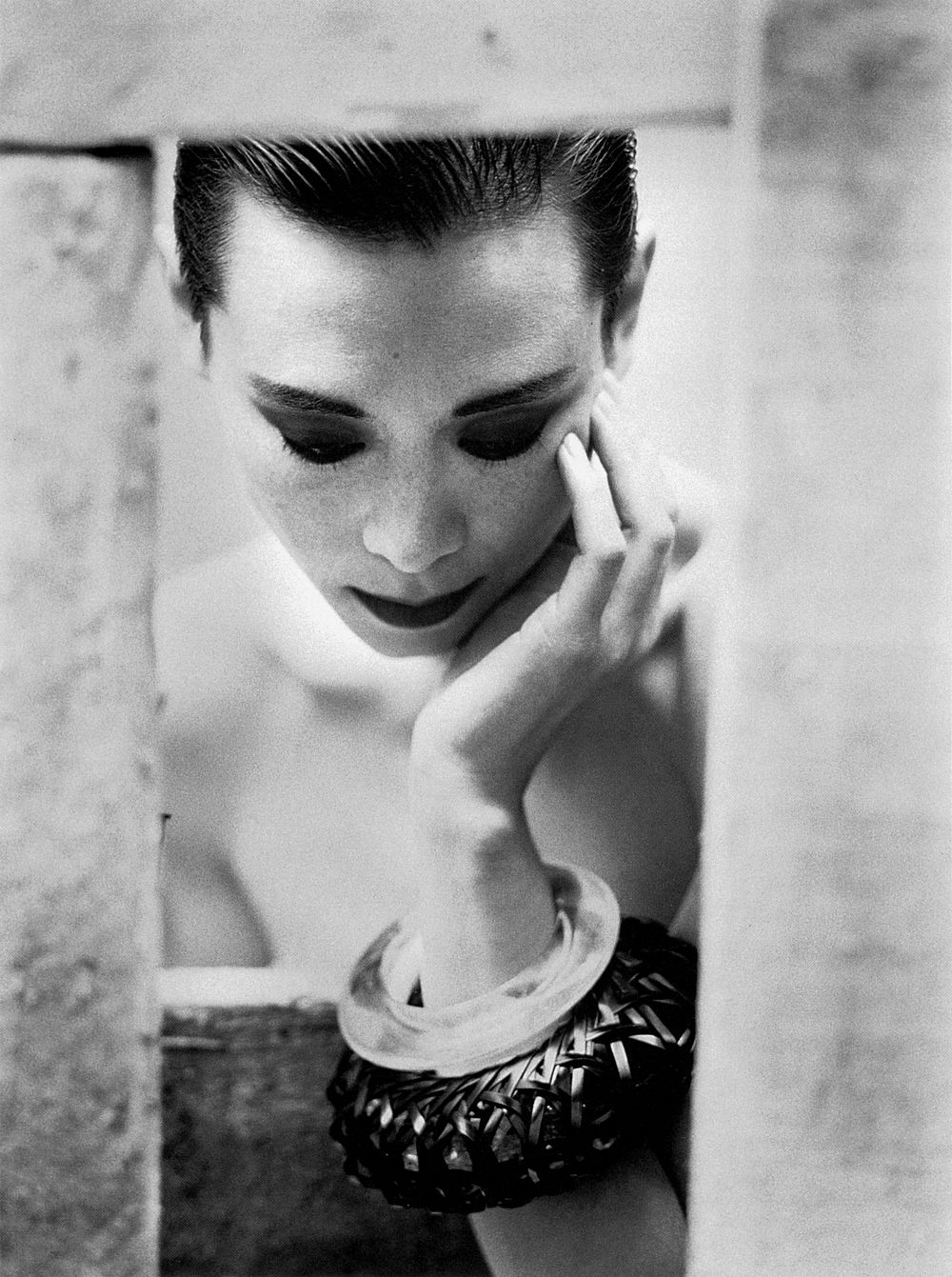 Tina Chow Wearing Jewellery Of Her Own Design 1988 Photo By