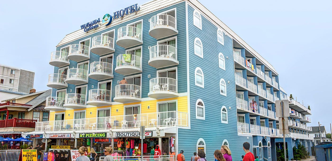 Ocean City Hotels >> Tidelands Caribbean Hotel Suites Ocean City Md The Beach In
