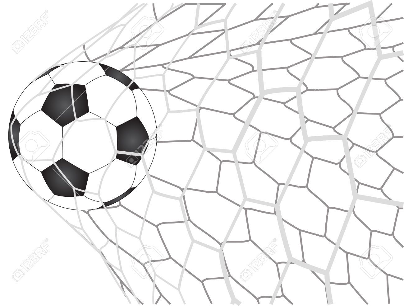 Soccer Goal Clipart Free Collection
