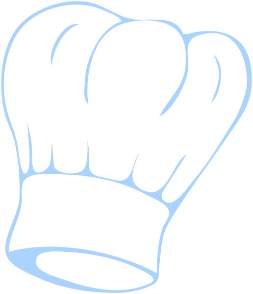 Chef Hat Blue