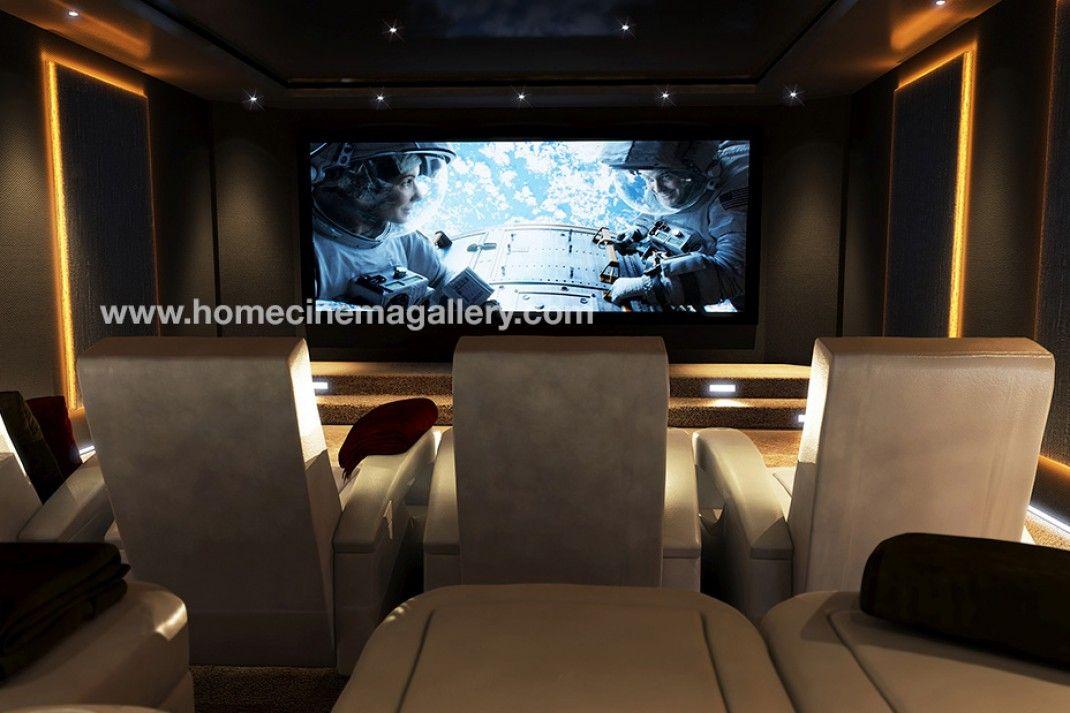 side panel lights conaway theater ideas pinterest cinema