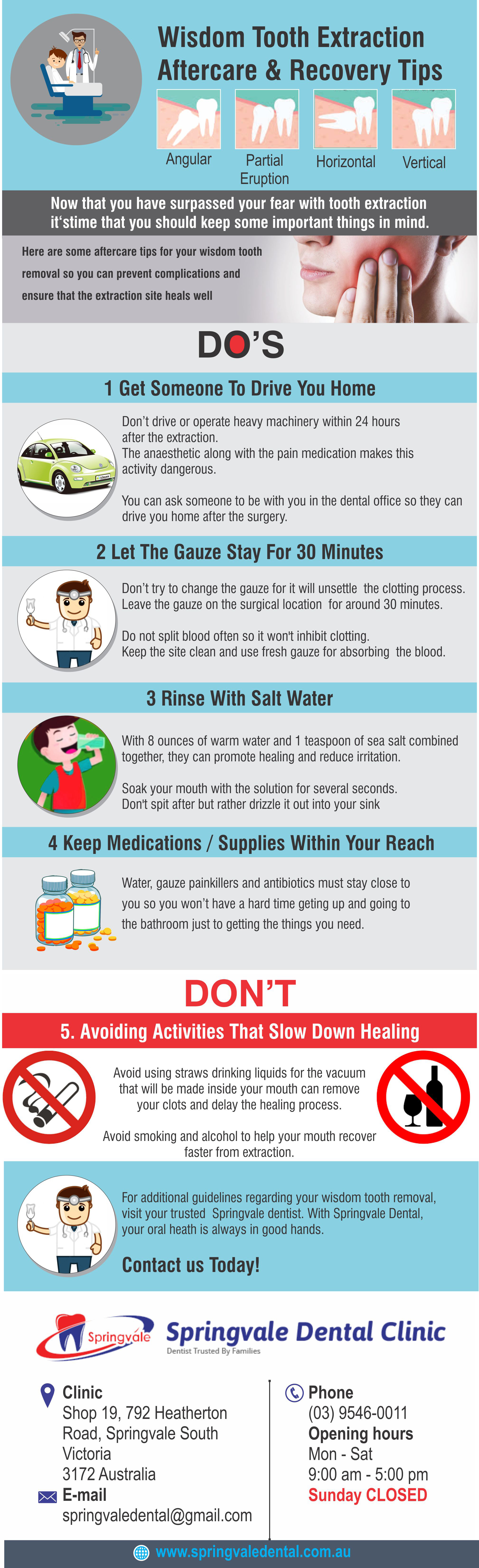 Check Out These Infographic Aftercare Recovery Tips For Wisdom Tooth Extrac Wisdom Tooth Extraction Aftercare Wisdom Teeth Recovery Wisdom Tooth Extraction