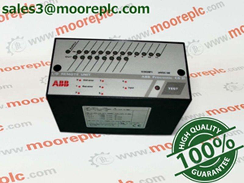 ABB ICSK20F1 ABB: 1) AC800M series controller I/O module 2