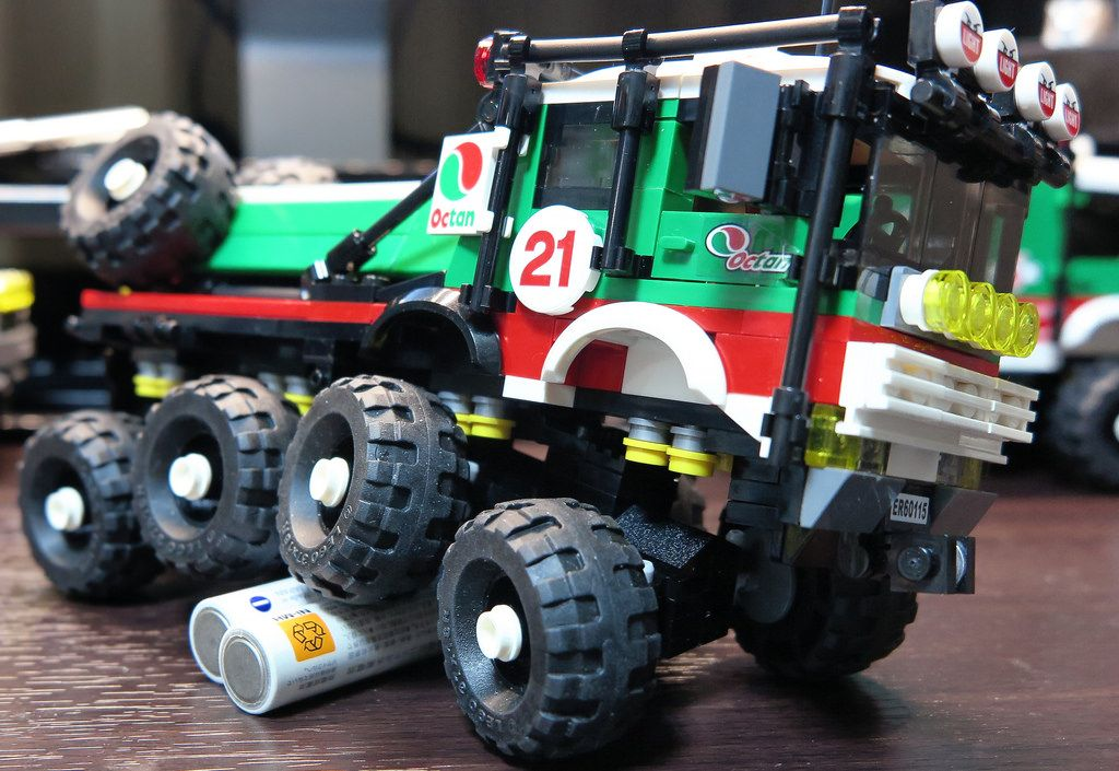 Lego Mod 60115 Octan 8x8 Trial Truck Flickr Favorites