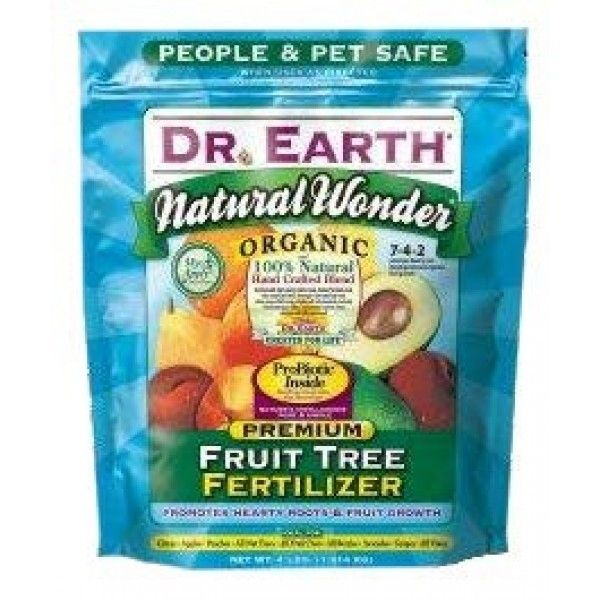 Dr Earth Organic Citrus Avocado And Fruit Tree Fertilizer Provides A Steady Supply Of