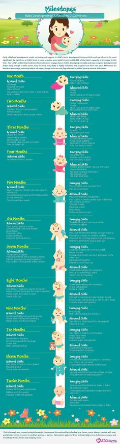 0 12 Months Baby Development Milestones