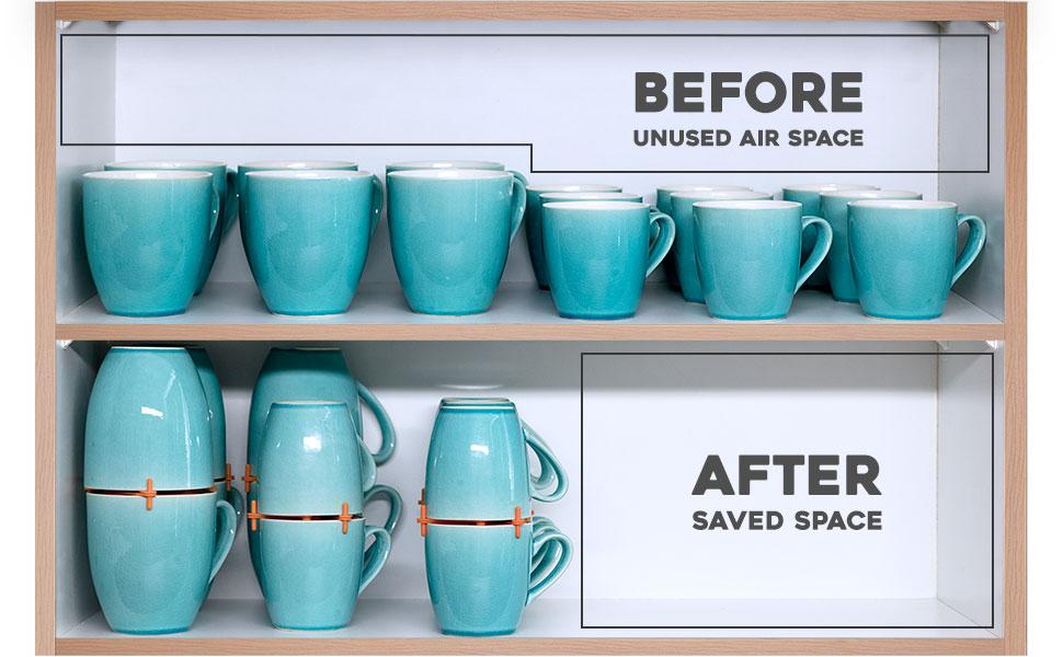 How to Organize Your Coffee Cups Kitchen Coffee Mug