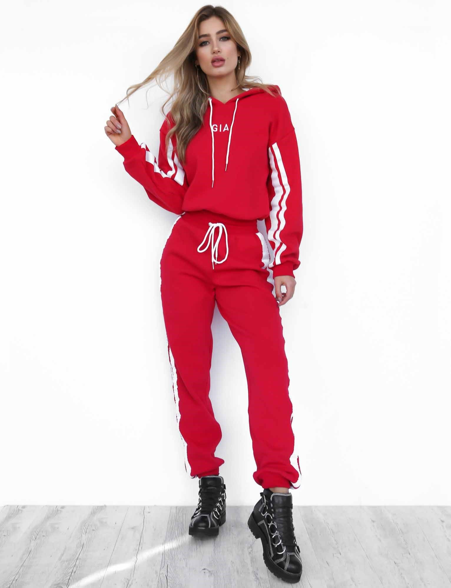 Striker Pant Sporty outfits, Red tracksuit, Clothes