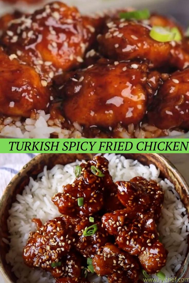 Turkish Spicy Fried Chicken Best Recipes Recipe Chicken Spicy Fried Chicken Fried Chicken