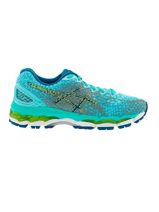 5250cb8e5785 Gel-Nimbus 17 Lite-Show by Asics - Shine bright in low light thanks a  3D-printed reflective upper and glow-in-the-dark GEL® cushioning for a  supremely ...