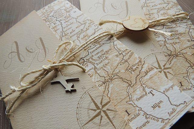 Partecipazioni Matrimonio Viaggio.Matrimonio Tema Viaggio Idee E Ispirazioni Originali