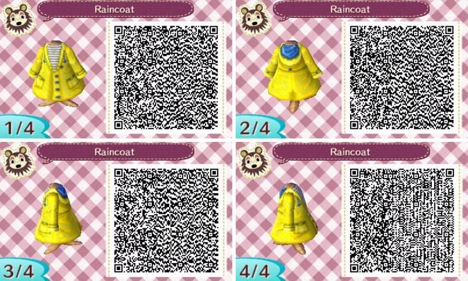 Catvillecrossing Since Our Winter Has Been So Warm We Ve Had Lots Of Rain Here S One Classic S Animal Crossing Qr Animal Crossing Qr Codes Animal Crossing
