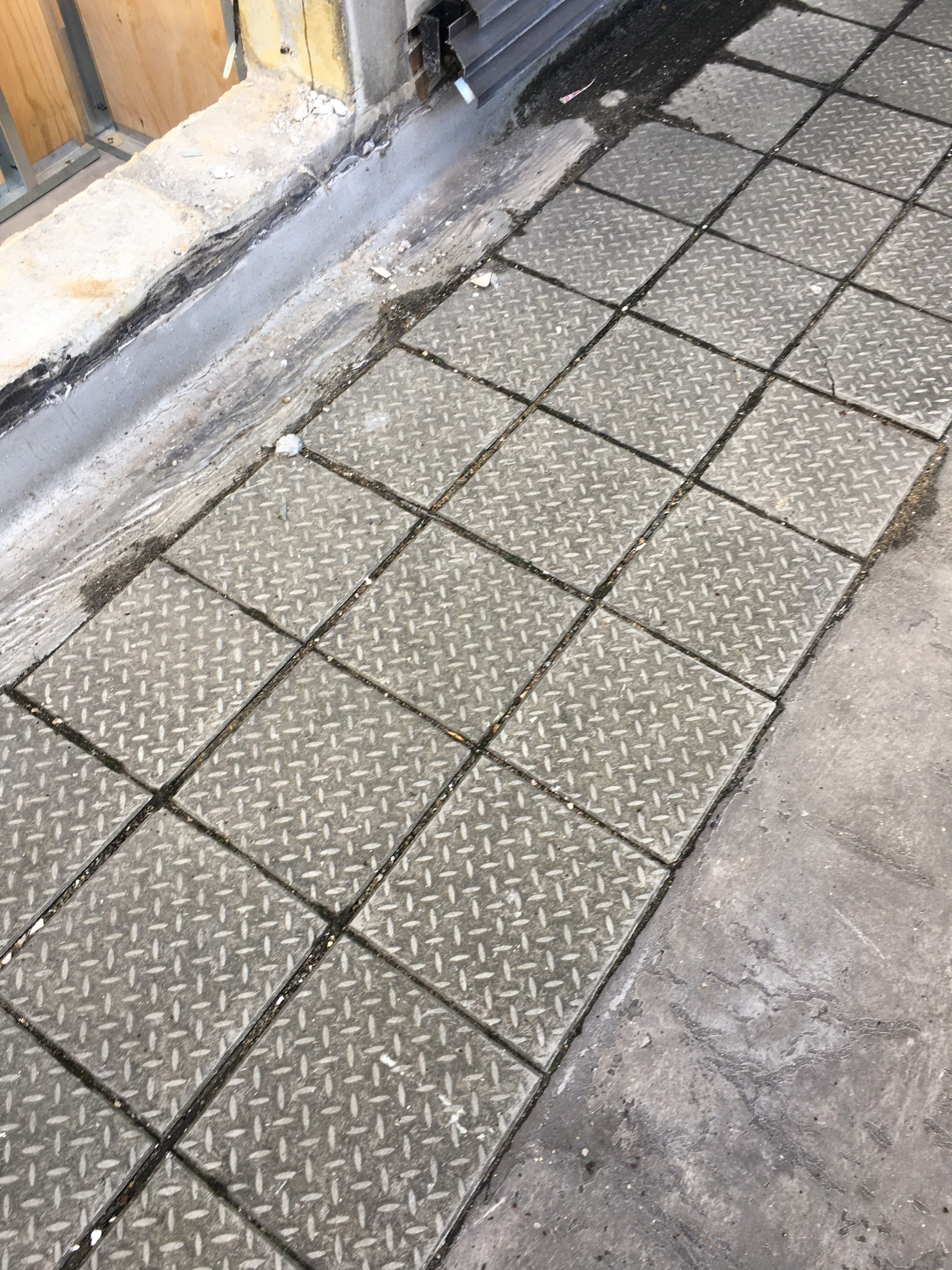 It Is A Happy Friday For This Customer Who Had These Asbestos Tiles Removed From Their Apartment Asbestosrem Mesothelioma Asbestos Removal Medical Definition