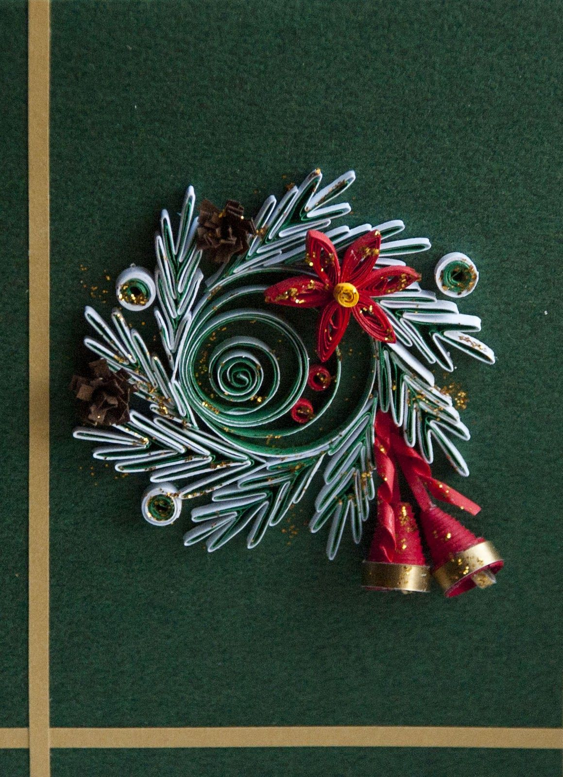 neli quilling cards  christmas  quilling christmas diy