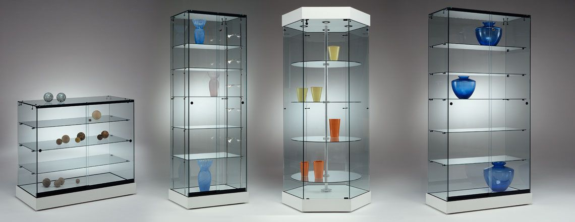 Glass Display Showcases From Planetdisplay Suppliers Of Shop Fittings Mannequins Shop Display Glass Cabinets Display Glass Display Unit Retail Display Cases