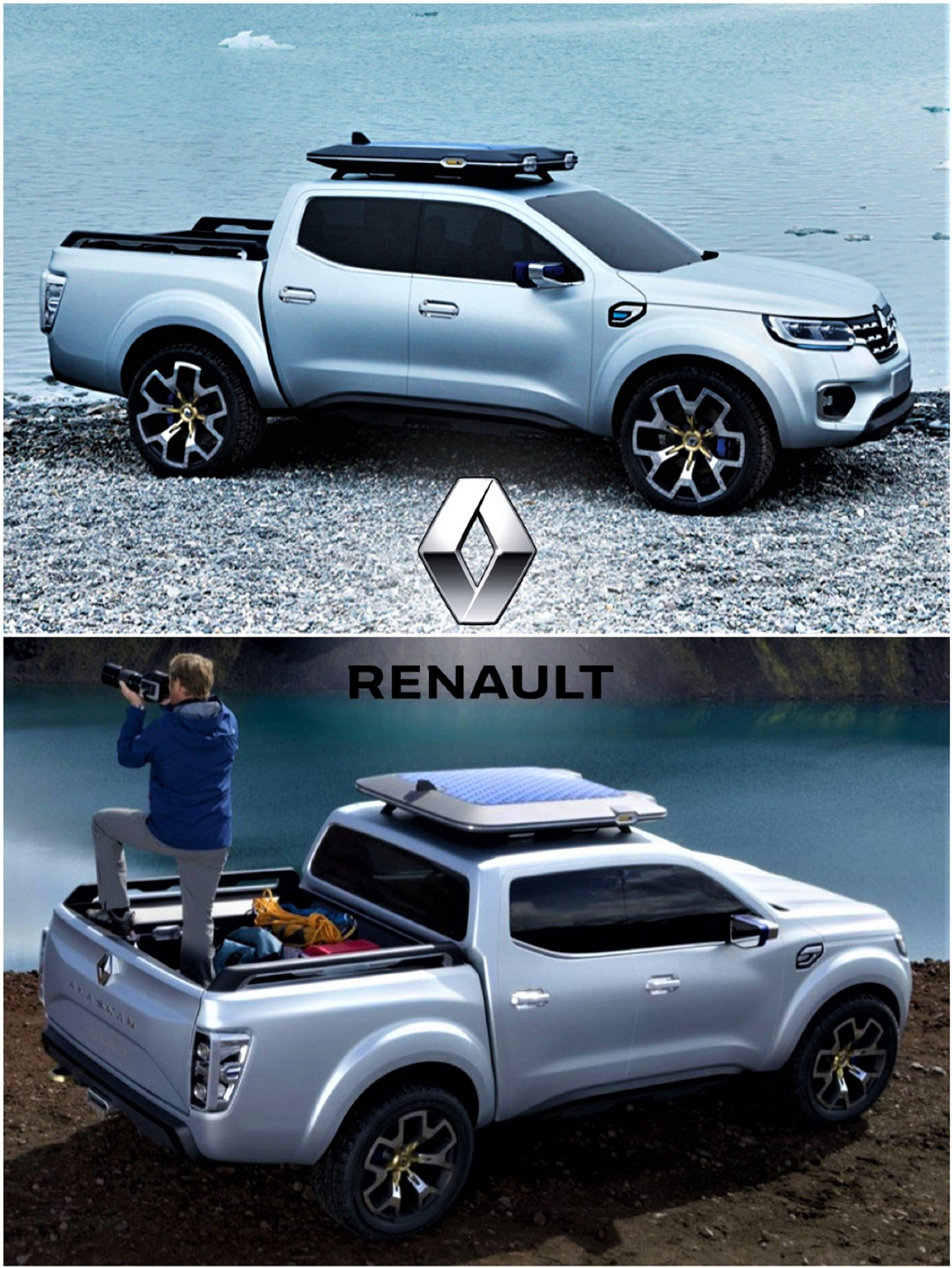 2018 Renault Alaskan Concept Http Renault Co Uk Vehicles