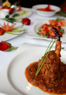 A selection of Indian dishes we have offered