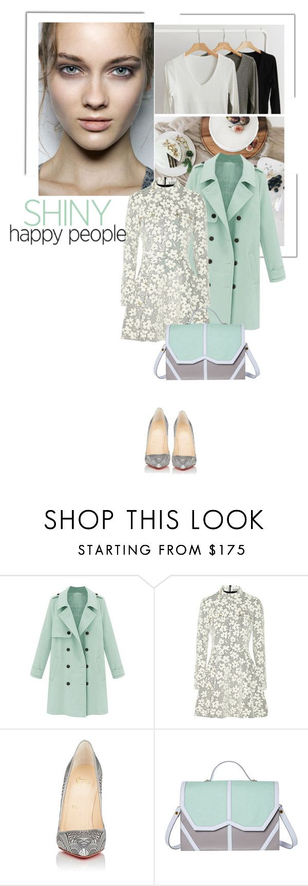 """""""Título 161"""" by drigomes ❤ liked on Polyvore featuring J.W. Anderson, Christian Louboutin and Emeline Coates"""