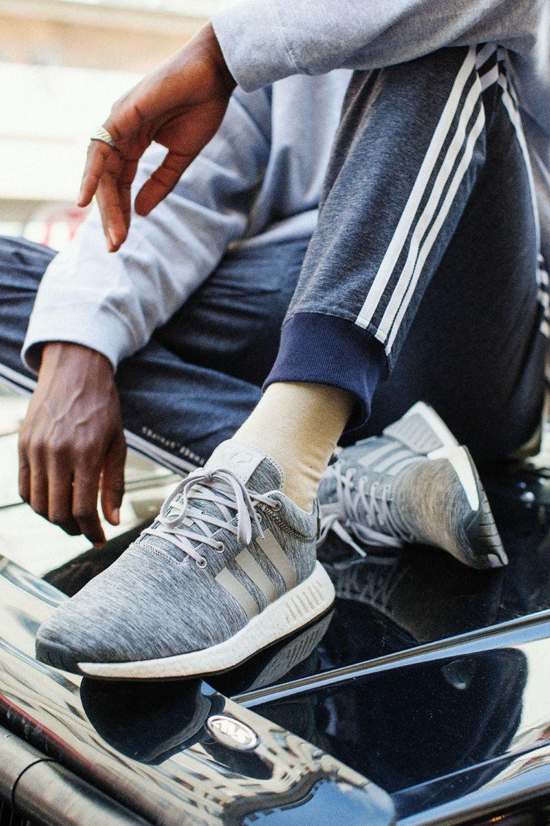 buy online b5f29 75baf adidas Originals NMD R2 Grey Melange Pack | Sneakersnstuff | Adidas ...