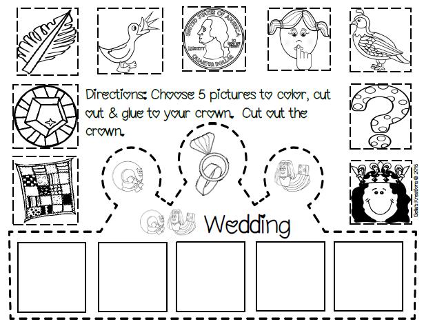 Q and U Wedding Printable Decorations/Supplies | Phonics for ...