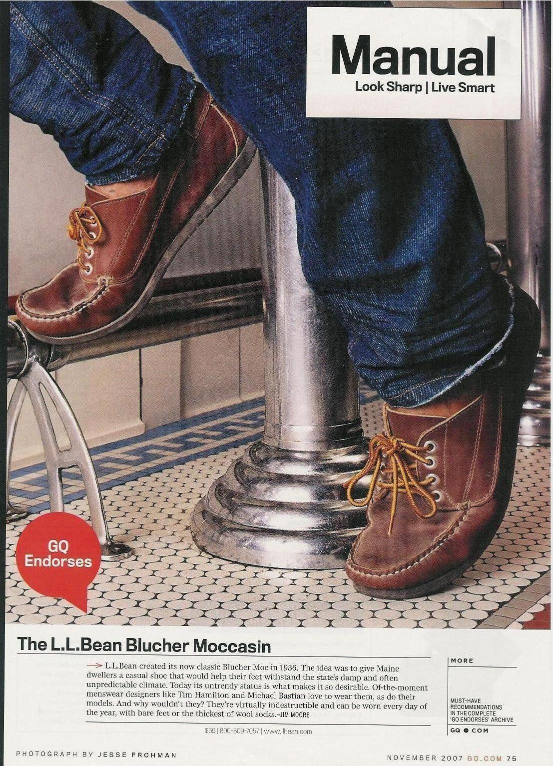 Where Can I Find These The L L Bean Blucher Moccasins