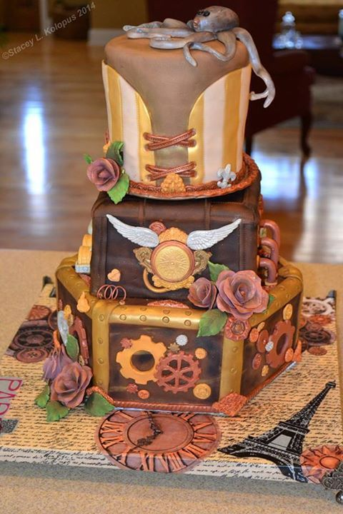 Cake by Stacey Kolopus