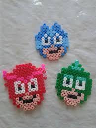 Image result for pj masks perler beads