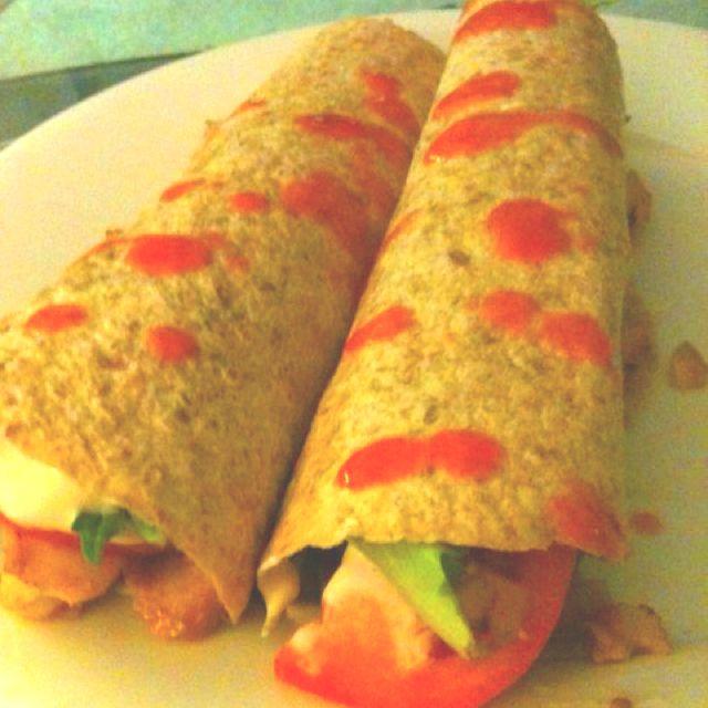 Fish burritos!