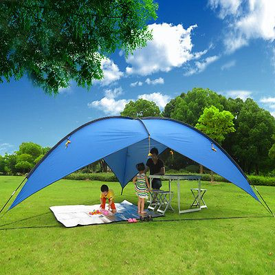 Other Tents and Canopies 179019 16X16x16 Blue Portable Sun Shade Shelter Cabana Beach Tent Outdoor & Other Tents and Canopies 179019: 16X16x16 Blue Portable Sun Shade ...