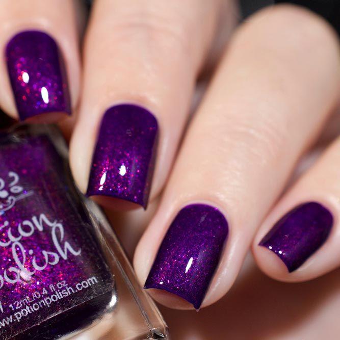 30 Sensational Winter Nail Colors to Warm Up Your Hands | Diseños de ...